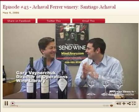 Wine TV Interview